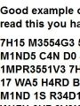 can you read this ..