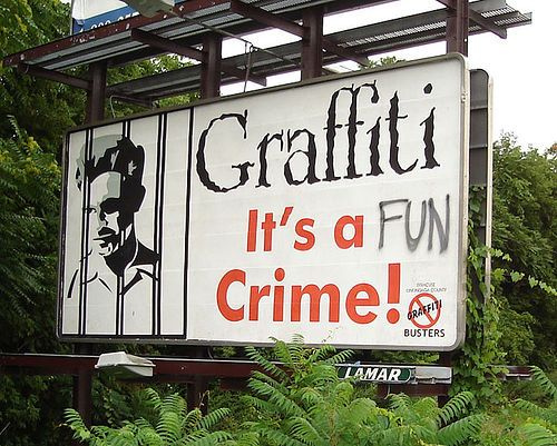 User Bild: Graffiti - It´s a ... Crime ..